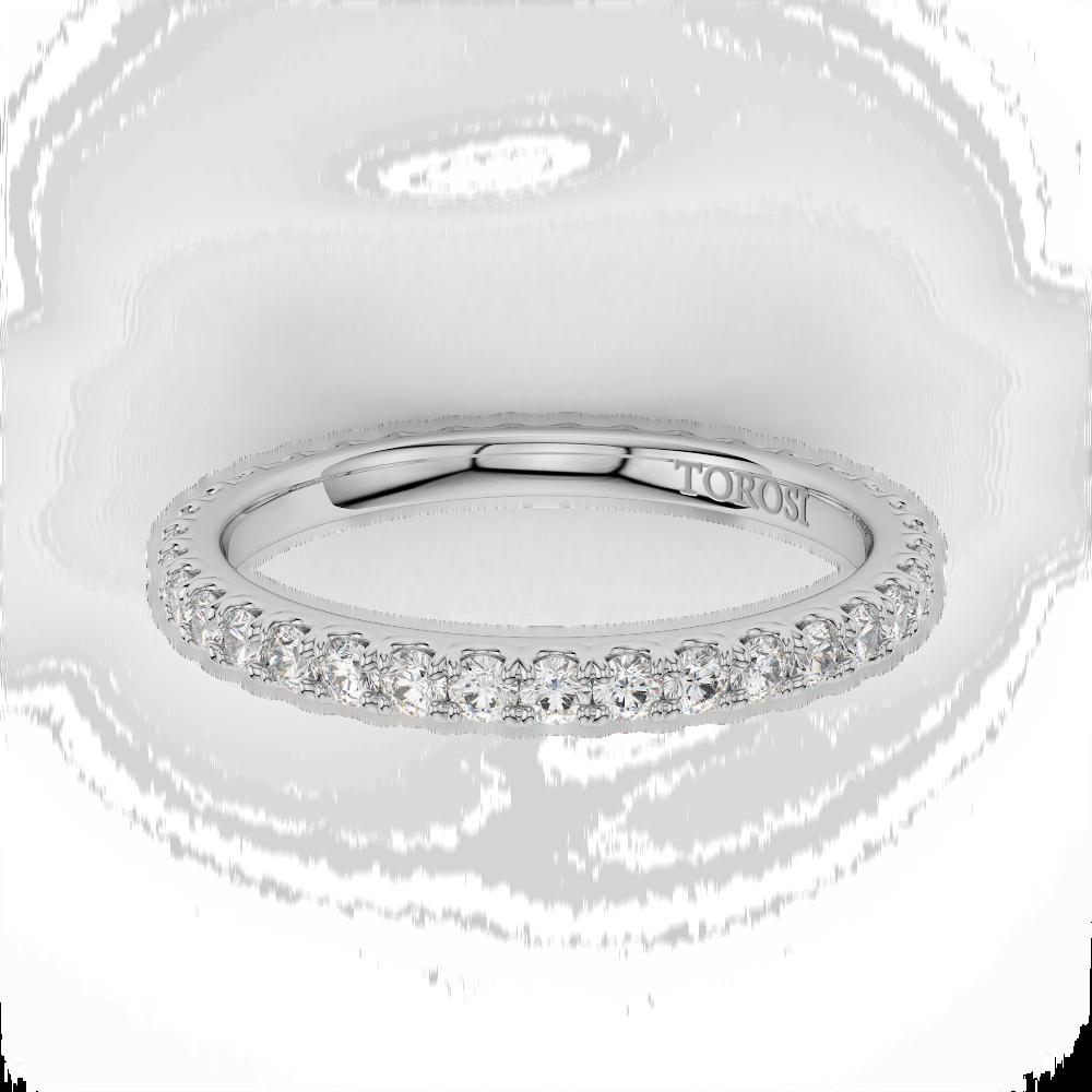 Prong Style Diamond Wedding band  | 0.71 ctw product image