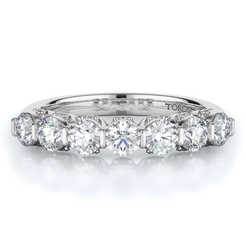 Prong Style Diamond Wedding band  | 0.94 ctw product image