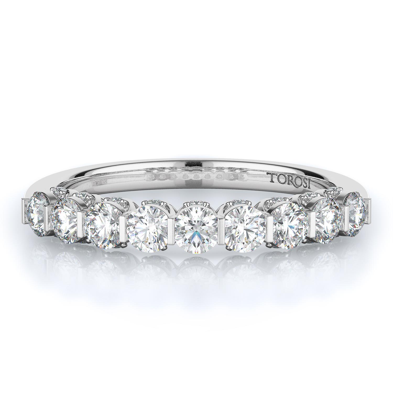 Prong Style Diamond Wedding band  | 0.65 ctw product image