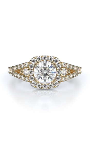 Halo Style Diamond Engagement ring 